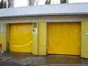 Шторы гаражные занавесы для автомоек и ремонтных боксов в Волгограде