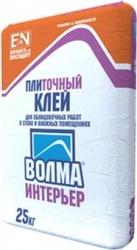 Плиточный клей Волма Интерьер в Волгограде.