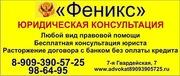 Юридические услуги в Волгограде