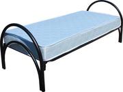 Металлические кровати двухэтажные,  кровати одноярусные для строителей