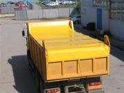 Тенты полога на самосвалы и грузовики