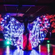 Световое шоу в Волгограде
