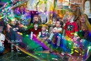 Шоу мыльных пузырей в Волгограде
