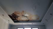 Фотопечать на натяжной потолок в спальню 5, 5 м2