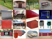 Изготовление скамеек